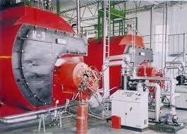 hệ thống lò hơi đốt gas