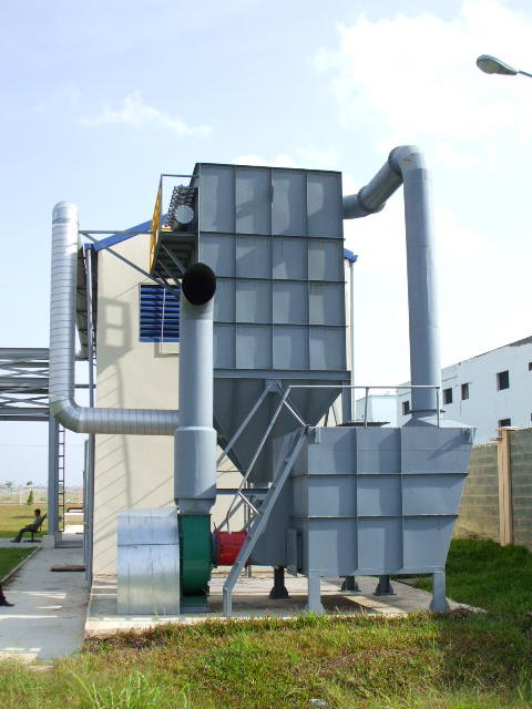 hệ thống lọc bụi nước