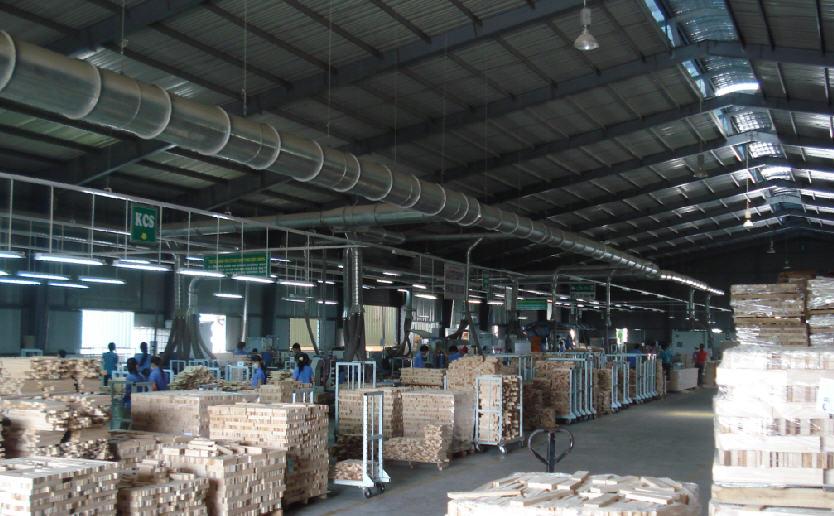 Ứng dụng của hệ thống xử lí bụi gỗ trong công nghiệp